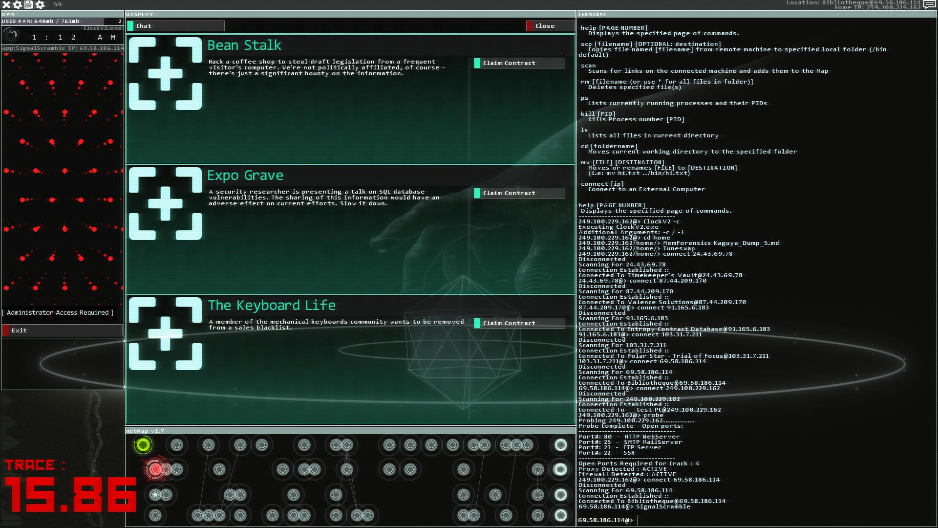 hacking simulator deutsch